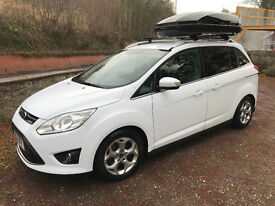 Ford Grand C-max 2011 Zetec 2.0 TDCi ElectricBoot 74k FFSH Owned 5 years excellent condition