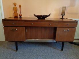 Nathan, Vintage 1960's Teak Sideboard/Dresser