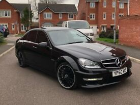 2011 MERCEDES-BENZ C63 AMG EDITION 125 FACELIFT SPEC OBSIDIAN BLACK PX 335d RS6 RS3 S3 GOLF R