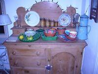 Pretty vintage pine sideboard/ dresser
