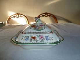 Copland Spode Chinese Rose Tureen.