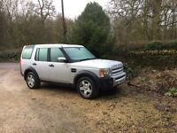 LAND ROVER DISCOVERY 3TDV6 S 5 door 4x4 diesel.Full service history and genuine very low mileage.