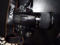 Sony a230 digital SLR camera