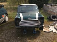 1992 Classic Mini Cooper 1275 SPi PROJECT 60k miles completely original 99% complete