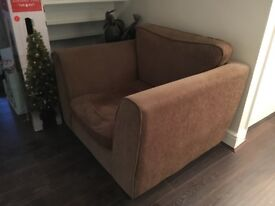 3 seater sofa and chair - furniture village
