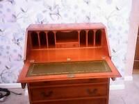 yew writing desk