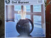 La hacienda gel burner for indoors or outdoors