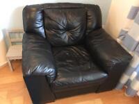 Sofa and single chair