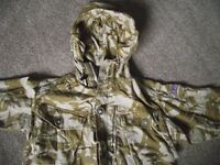 Bitish ARMY DPM Desert Camo jackets & jumper & trousers & other items £35 the lot