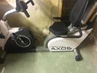 KETTLER Cycle Axos R Recumbent Exercise Bike RRP £450 for sale  West Yorkshire