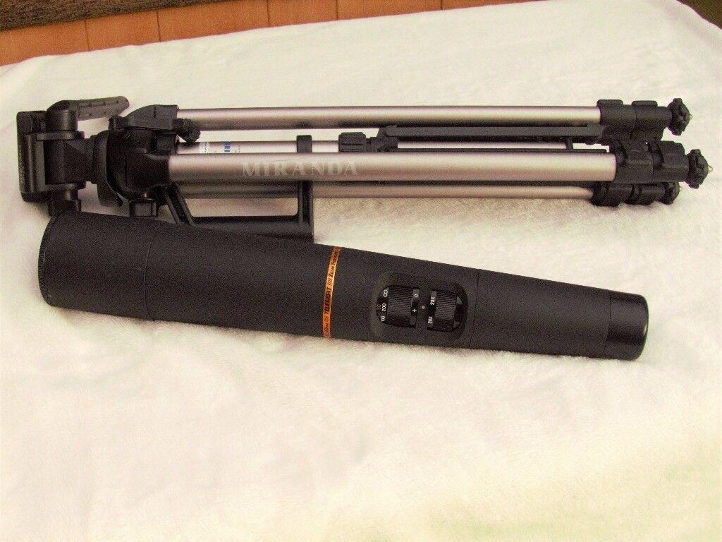 Telesport zoom telescope 15 - 60x60 mm & Miranda TP-35 tripod