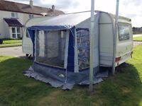 Dwe-Zelte Porch Caravan Awning