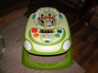 Baby walker with electronic sounds