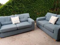 Excelent 3&2 seater sofas