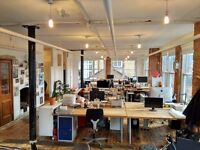 Office Space in Creative Central Shoreditch Old Street Warehouse Studio - EC2