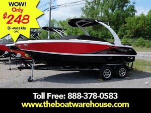 2016 four winns H210SS Mercruiser 300HP Trailer Wake Tower