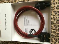 Nordost Red Dawn power cable in 1.5m length
