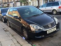 Honda Civic Executive Addition VTEC Leather Interior, Not Golf Polo VW BMW Yaris CHEAP INSUARANCE