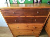 Handmade retro chest of drawers