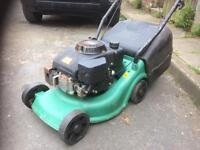 Challenge petrol lawn mower