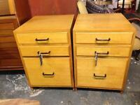 Wooden retro cabinets