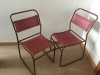 Vintage / Retro Stacking Dining Chairs