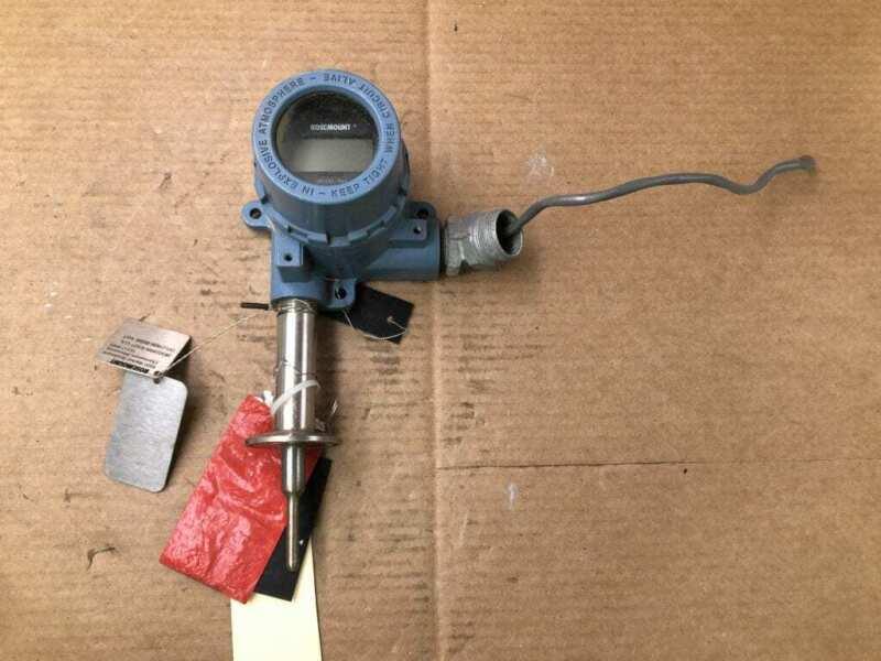 Rosemount 644HANAXAJ6F6Q4M5 Ex-Proof PT100 RTD Sensor 4 Wire 0-200°F