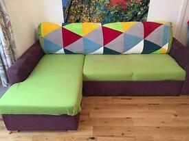 John Lewis corner sofa bed