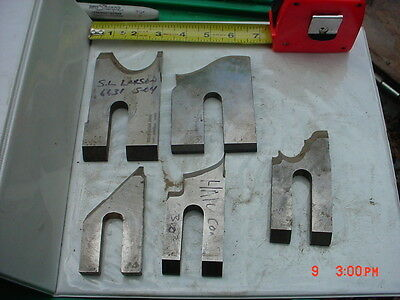 Lot 5 Moulder High Speed Knives Blades Stock 12