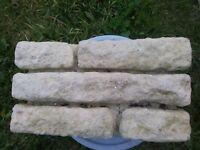 Cotswold stone blocks