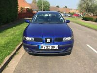 Seat Toledo for sale, leather interior, sate nave, MOT, service history, drives perfect.