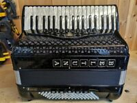 Beltuna Studio IV, 4 Voice Musette (LMMM), 96 Bass, Piano Accordion. Lessons Available.