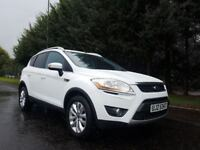 2010 FORD KUGA TITANIUM 4X4 2.0 TDCI 136BHP 6SPEED EXCELLENT CONDITION JUST SERVICED MOT JANUARY2018