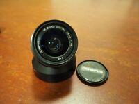 Olympus 25mm f/1.8 Lens