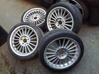 "BMW Alpina BBS Genuine Wheels 18"" Staggered Alloys 8j and 8,5j"