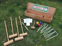 Vintage Jacques of London Croquet Set