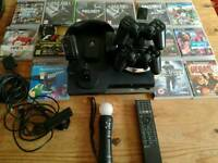 Ps3 with 12 games and extras