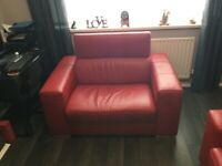 Velocity 3 Seater and Cuddler Sofa Bed