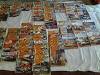 A Collection of fl stock car racing magazines