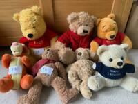 Selection of cuddly toys
