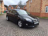 2013 FORD FOCUS ZETEC 1.6 TDCI , 12 MONTH MOT, SERVICE HISTORY, FULL HPI CLEAR, LOW MILEAGE,