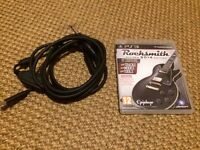 Rocksmith 2014 with official truetone cable (for PS3)