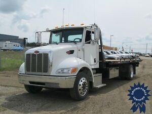2013 Peterbilt 337 Flat Deck Truck, Ready To Take On Any Job