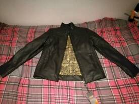 Leather jacket mens