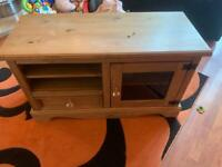 Tv cabinet with lock