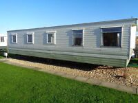 3 bed caravan,8 berth partial double glazing,new carpets ,beach access on site ,be quick,,ln12 2ph