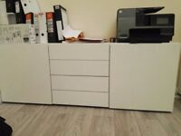 Brand New Office White Cupboard