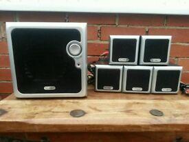 5.1 Sound system. Technika