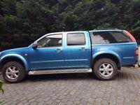 Isuzu Rodeo Pick Up Blue 2003