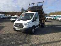 2015 FORD TRANSIT 125 TIPPER##ONLY 75K MILES##